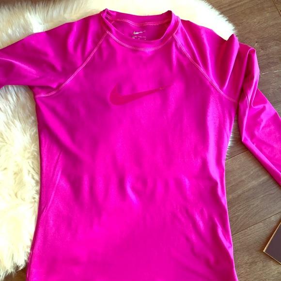 a58cb8b6 Nike Tops   Upf 40 Dri Fit Running Shirt Sz M Nwt   Poshmark